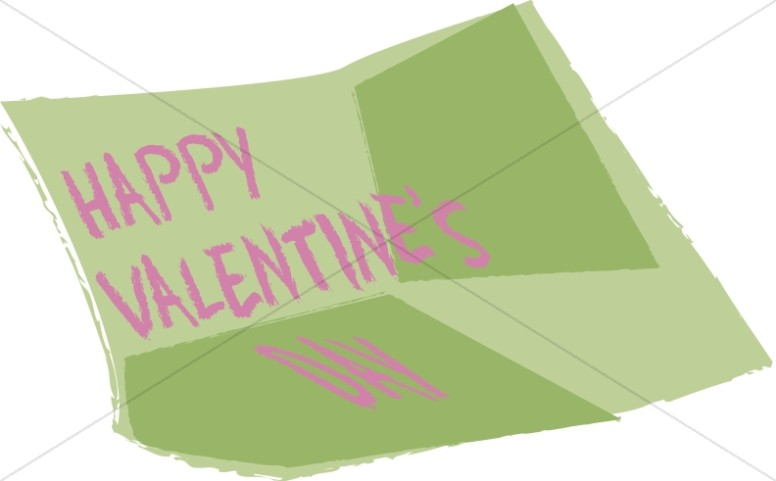 Happy Valentine's Note