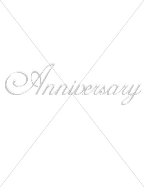 Silver Anniversary Script