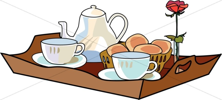 Morning Tea Tray