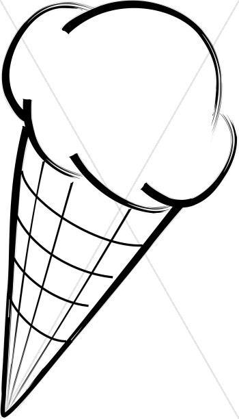 Ice Cream in a Cone