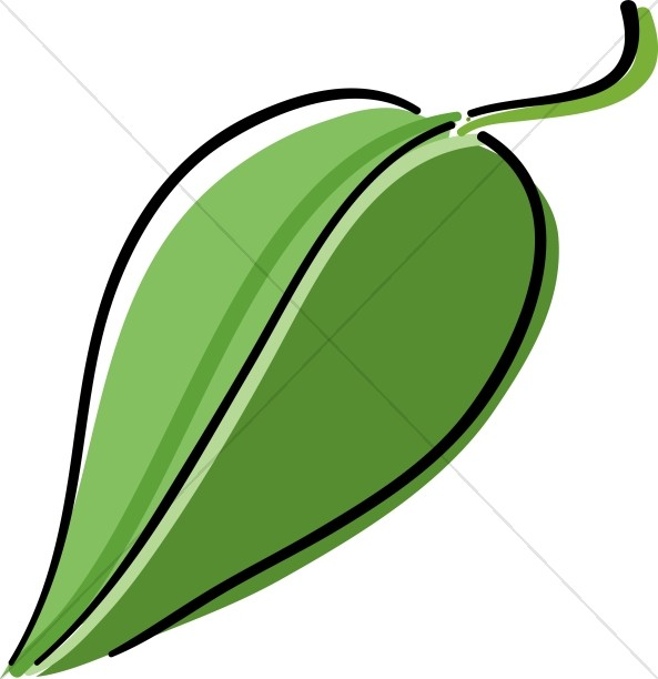 Simple Iconic Leaf
