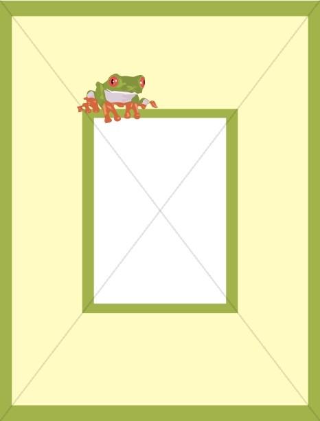 Frog on a Frame