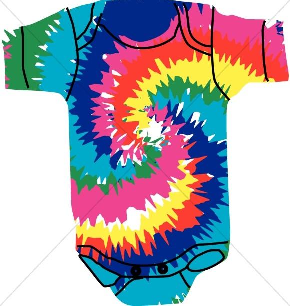 hippie baby onesie religious baby clipart rh sharefaith com tie dye shirt clipart tie dye clip art free