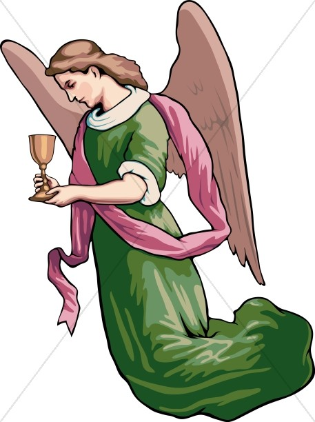 Communion angel image