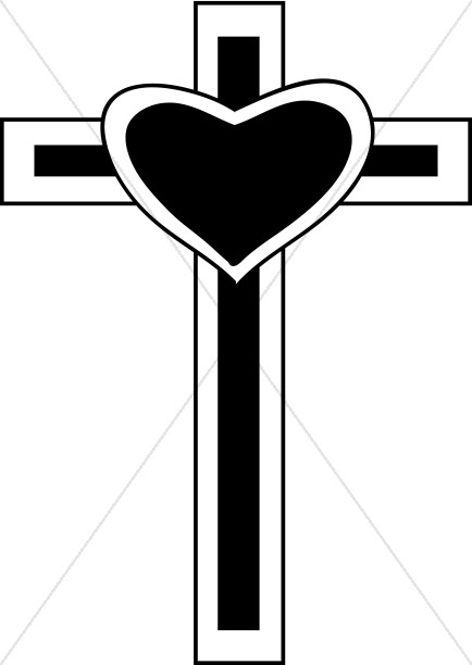 Heart On Cross