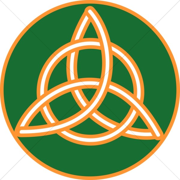 Gold Trimmed Celtic Trinity Knot Trinity Clipart