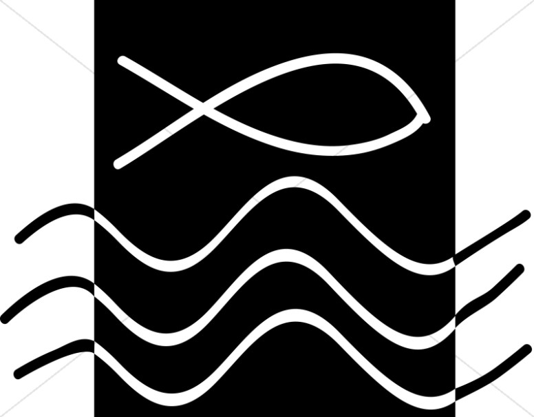 Fish above Water Symbol