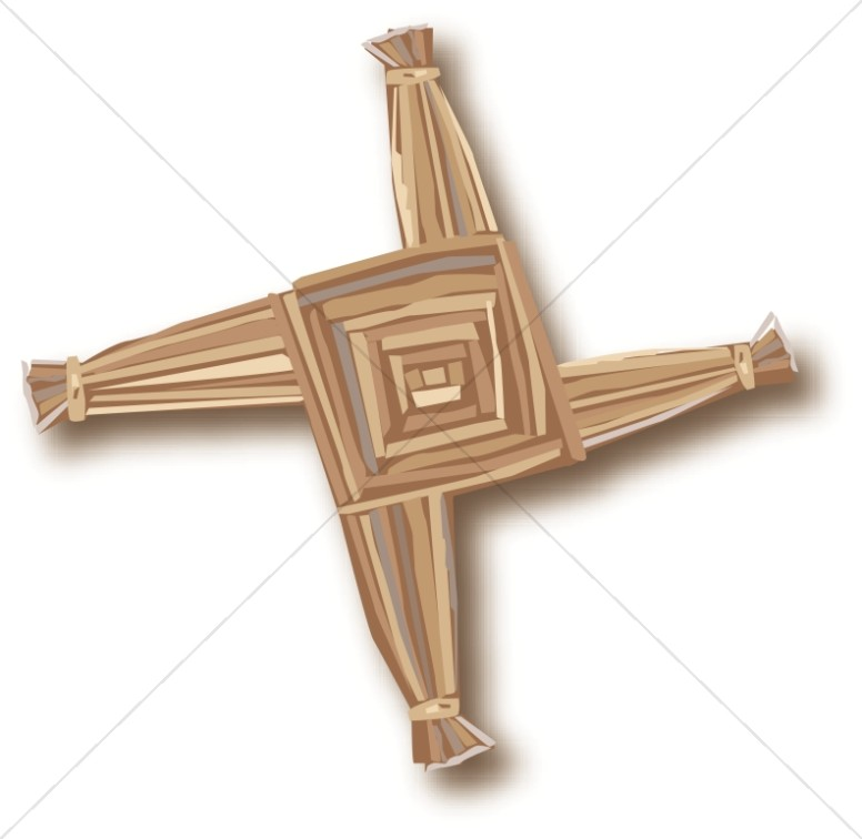 Irish Candlemas Cross