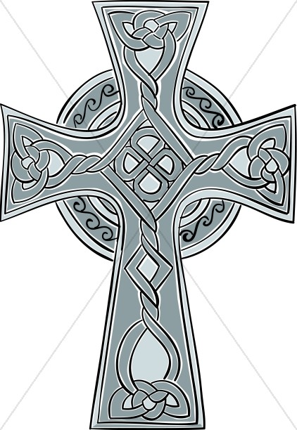 Celtic Twisted Knot Cross
