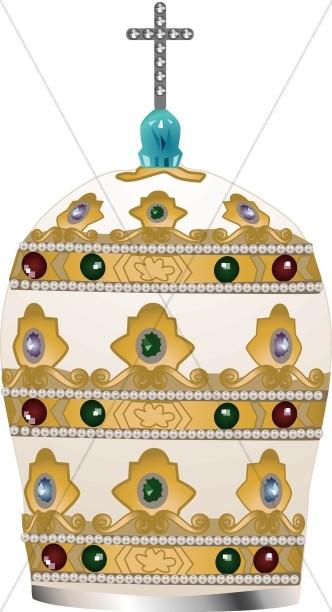 Ceremonial Papal Hat
