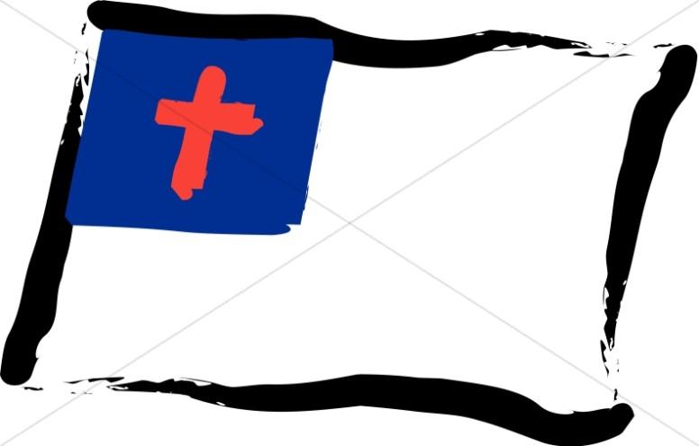 Bold Christian Flag