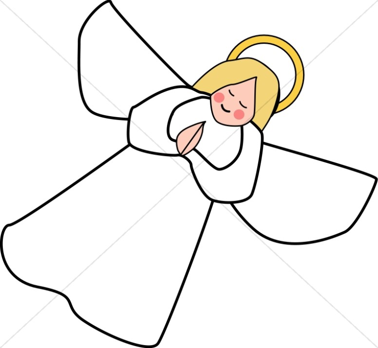Angle line art clipart angel clipart for Angel clipart