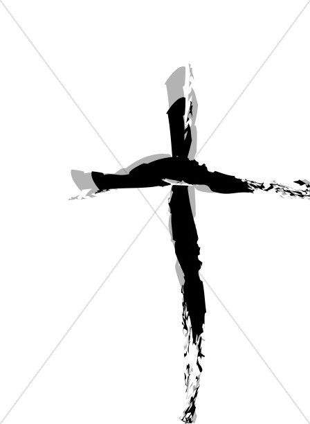 Good Friday Black Cross