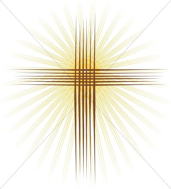 Gleaming Cross Of Lines