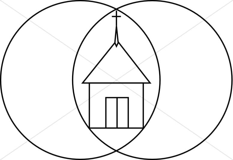 Unity Church Symbol Church Clipart