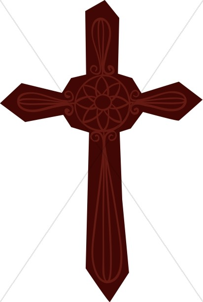 Decorative Rounded Cross