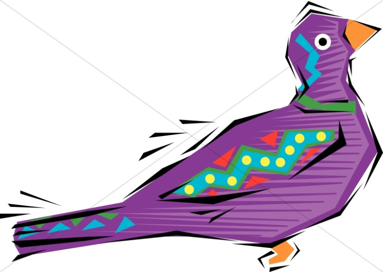 Fun, Festive Bird Clipart