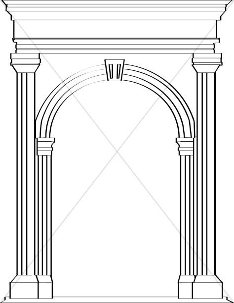 Stone Arch in Roman Architecture
