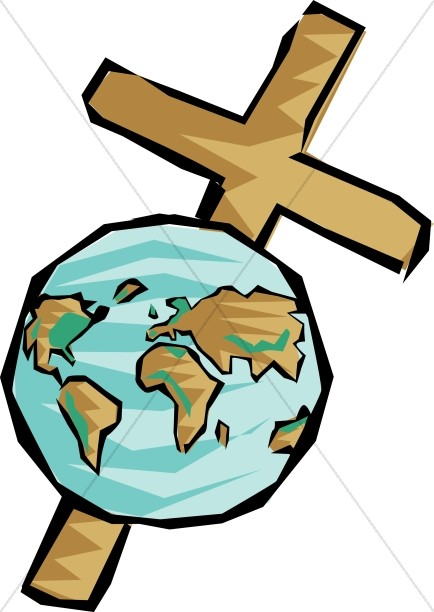 Cross and World Image