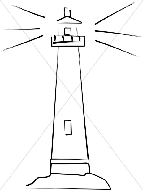 Lighthouse Shows the Way