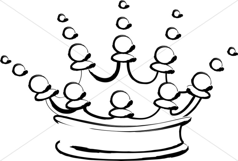 Outline of Fancy Crown