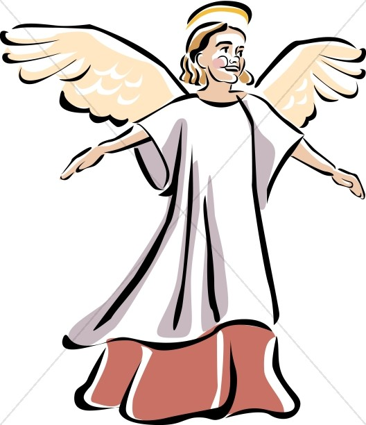 Child Angel Church Clipart