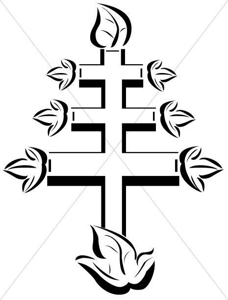 Papal Cross Symbol