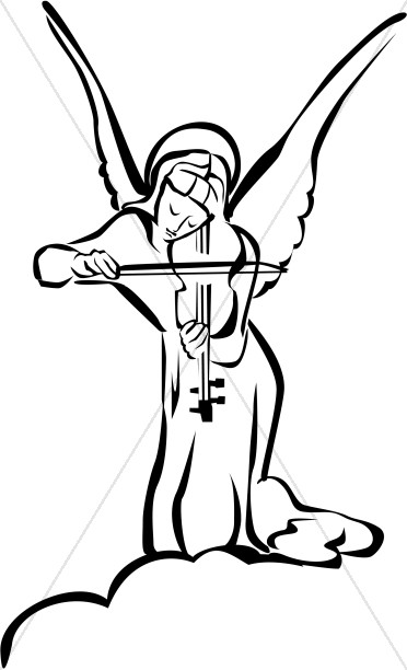 Angel religious. Clipart