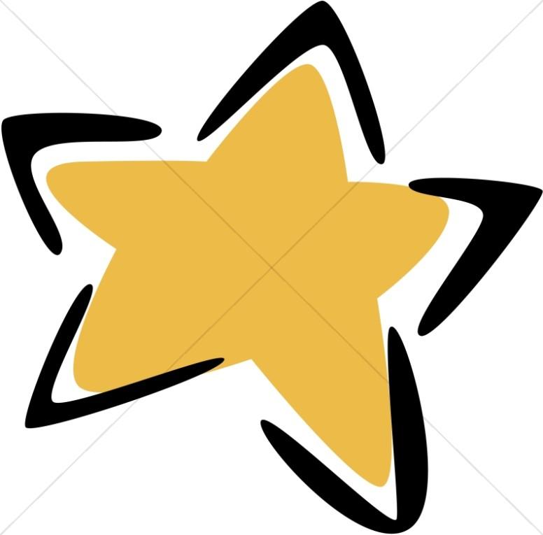 Modern Gold Star