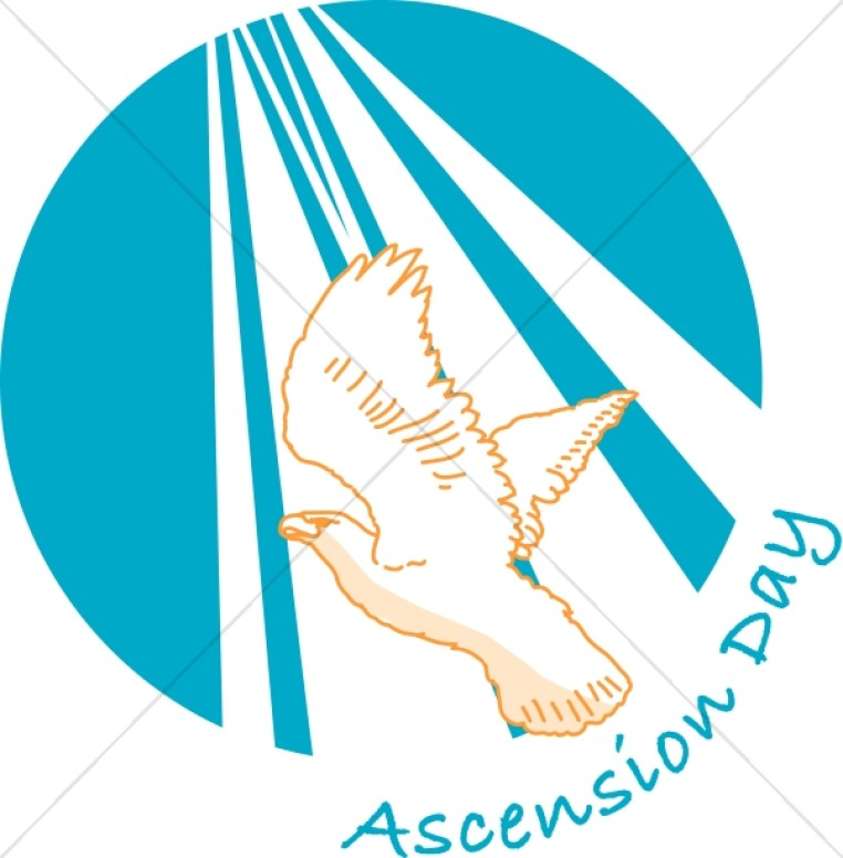 Ascension Day Word Art