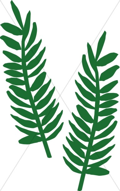 two palm fronds palm sunday clipart rh sharefaith com palm sunday clipart black and white palm sunday clipart black and white
