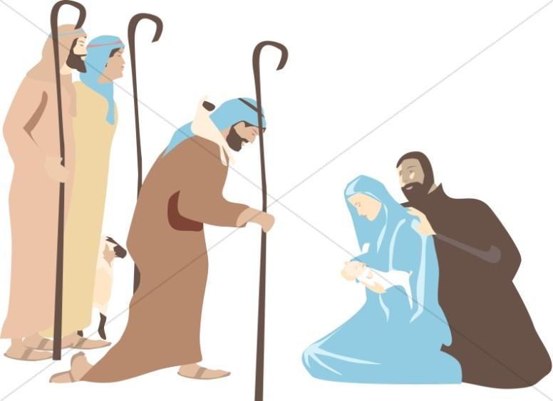 The Shepherd's Visit