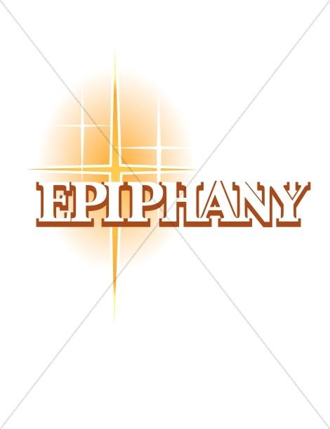 Epiphany and Gold Natal Star