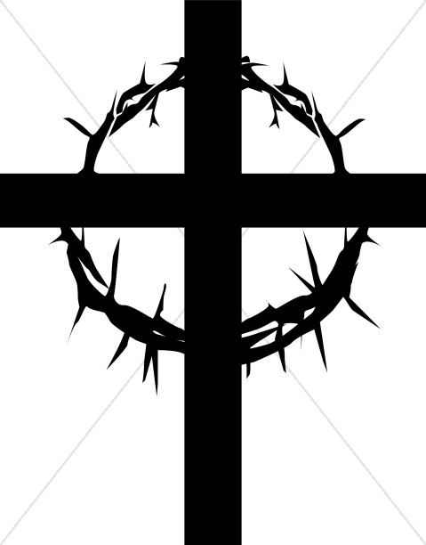 Cross with Ring of Thorns