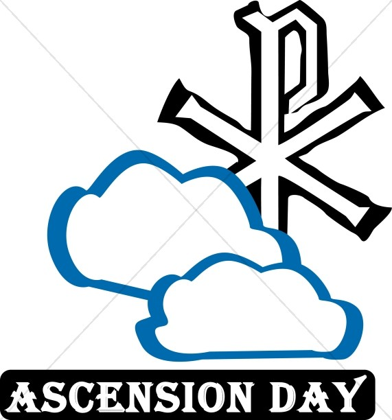 religious art clipart ascension day ascension word art rh sharefaith com christian symbols clip art and meaning