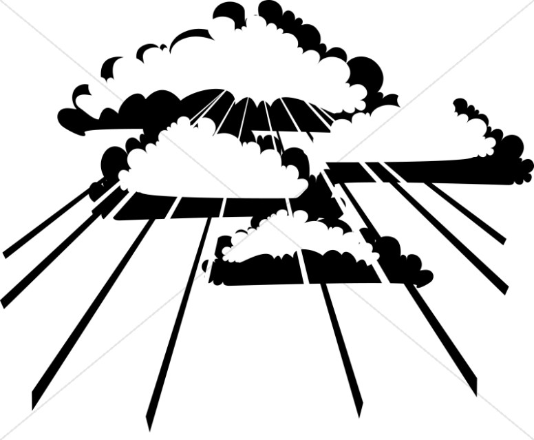 Clouds Clipart Ascension Day Clipart