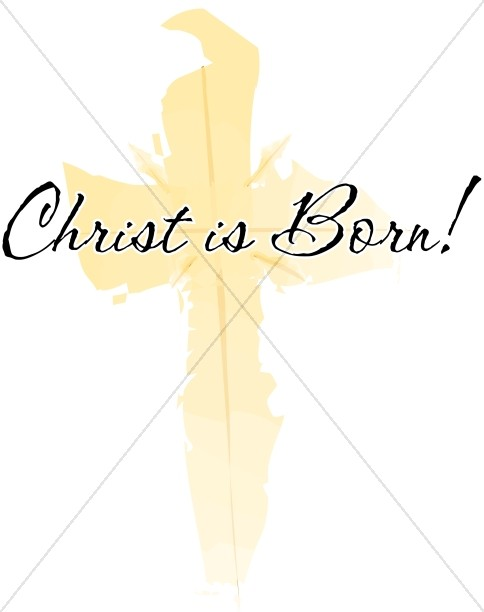 Christ is Born Cross