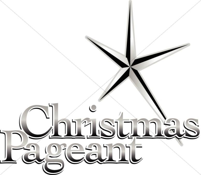 Christmas Pageant Announcement