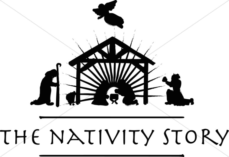 The Nativity Story Silhouette