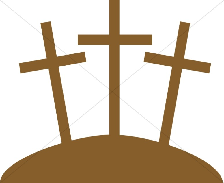 Three Crosses Graphic | Cross Clipart