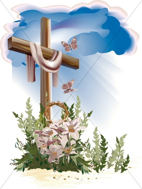 easter cross resurrection cross cross clipart rh sharefaith com easter lily cross clipart easter cross clip art free