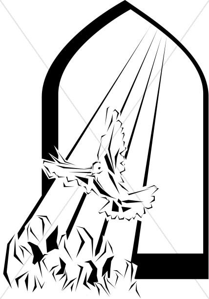 Clip Art Pentecost Clipart pentecost clipart image graphic sharefaith holy spirit visits at pentecost