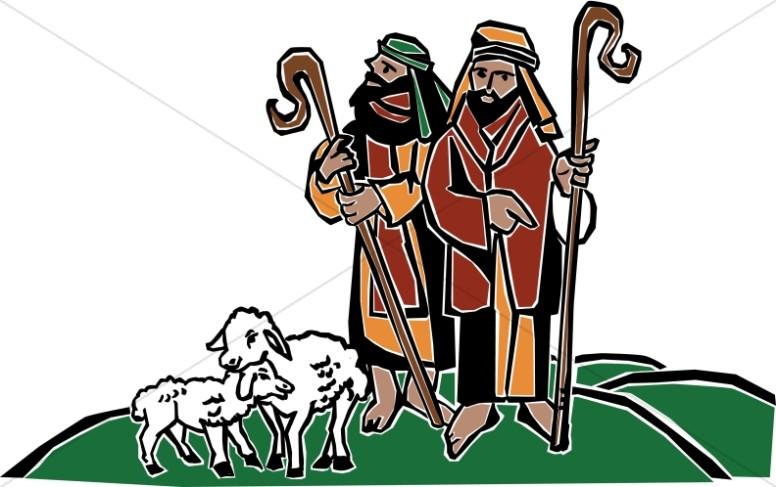 Shepherds Watch Over the Sheep