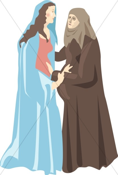 Virgin Mary's Visitation to Elizabeth