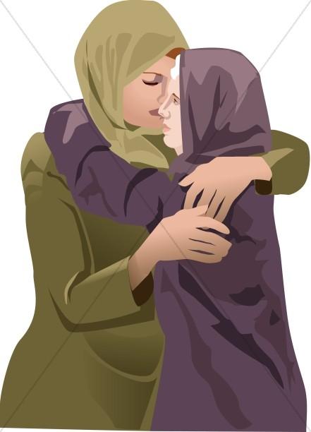 Ruth Comforts Naomi
