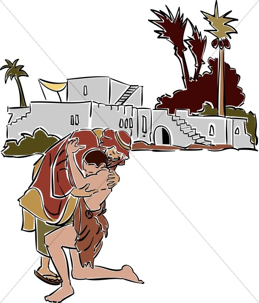 Prodigal Son Returns Clipart New Testament Clipart