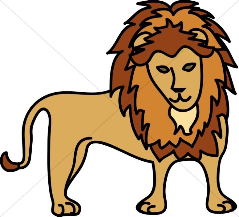 Simple Lion