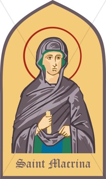 Portrait of Saint Macrina
