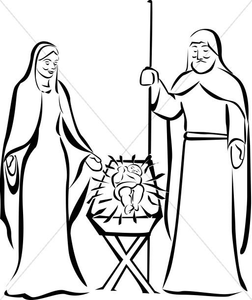 Jesus in the Manger