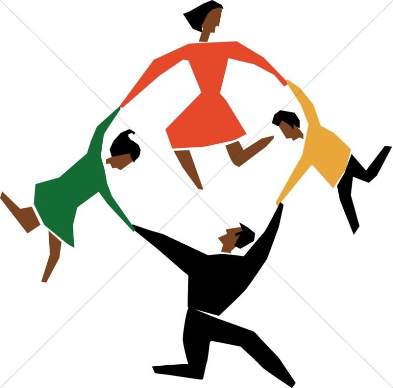 cut out circle dance praise clipart rh sharefaith com praise dance clip art free praise dance clip art free